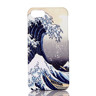 Maska Pentru Apple iPhone 7 Plus iPhone 7 Ultra subțire Model Capac Spate Decor Greu PC pentru iPhone 7 Plus iPhone 7 iPhone 6s Plus