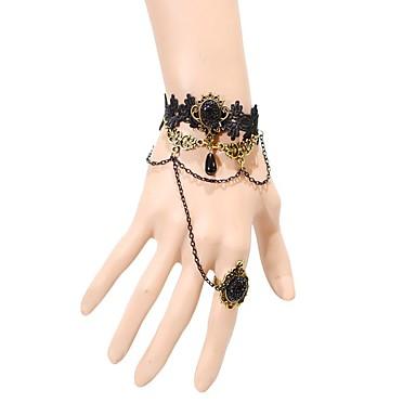 Damskie Bransoletki i łańcuszki na rękę Modny Koronka Crown Shape Biżuteria Na Ślub Impreza Specjalne okazje Urodziny Prezenty