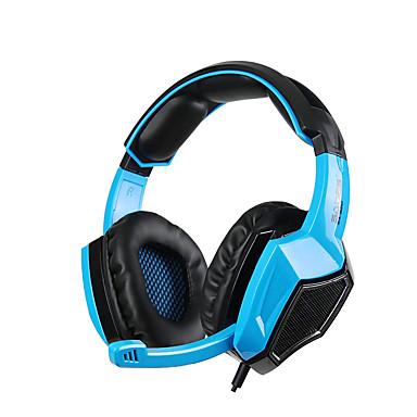 SA-920 Ponad uchem Opaska na głowę Przewodowy/a Słuchawki Dynamiczny Plastikowy Rozrywka Słuchawka Z kontrolą głośności z mikrofonem
