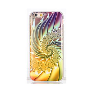 غطاء من أجل iPhone 7 Plus iPhone 7 iPhone 6s Plus أيفون 6بلس iPhone 6s ايفون 6 أيفون 5 Apple IMD نموذج غطاء خلفي لون متغاير ناعم TPU إلى