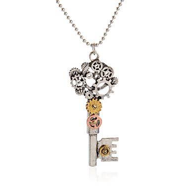 للمرأة للرجال قلائد الحلي مجوهرات Geometric Shape سبيكة تصميم فريد ستايل الشعار أسلوب بانك Rock مجوهرات من أجل حزب