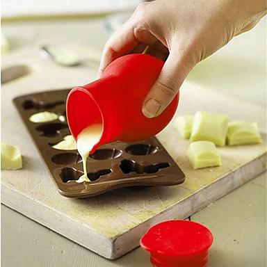 Miarki i łyżka Początkujący o cukierki Lód Czekoladowy Cupcake Tort Silikonowy Ekologiczne DIY Wysoka jakość