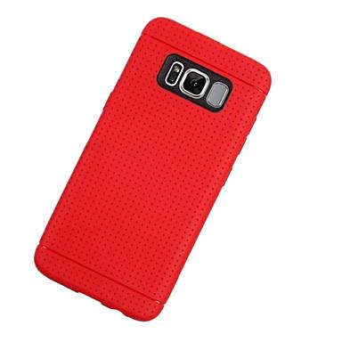 غطاء من أجل Samsung Galaxy S8 Plus S8 نحيف جداً غطاء خلفي لون الصلبة ناعم TPU إلى S8 S8 Plus