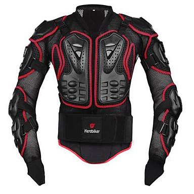 Недорогие Средства индивидуальной защиты-Herobiker мотоциклетная куртка бронежилет спина грудь защитное снаряжение мотокросс гонки защита мото