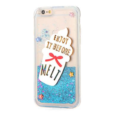 Için Taşlı Akan Sıvı Ayna Kendin-Yap Pouzdro Arka Kılıf Pouzdro Glitter Parlatıcı Yumuşak TPU için AppleiPhone 7 Plus iPhone 7 iPhone 6s