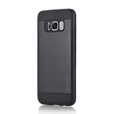 Pouzdro Uyumluluk Samsung Galaxy S8 Plus S8 Şoka Dayanıklı Other Arka Kapak Tek Renk Sert PC için S8 Plus S8 S7 edge S7 S6 edge plus S6