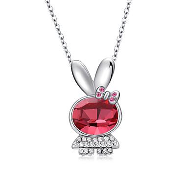 Pentru femei Coliere cu Pandativ Bijuterii Animal Shape Bijuterii Cristal Ștras Aliaj Design Unic Iubire Modă Euramerican Bijuterii Pentru