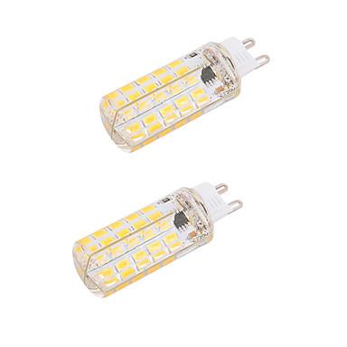 BRELONG® 5 W 450-500 lm G9 E26/E27 LED Λάμπες Καλαμπόκι T 80 leds SMD 5730 Με ροοστάτη Διακοσμητικό Θερμό Λευκό Ψυχρό Λευκό AC 220-240V