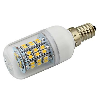 4W E12 Żarówki LED kukurydza T 48 SMD 2835 380 lm Ciepła biel Zimna biel Dekoracyjna V 1 sztuka