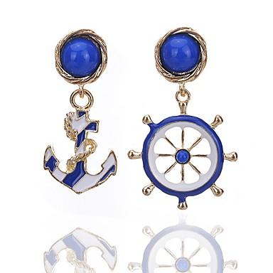 للمرأة أقراط قطرة مجوهرات تصميم فريد euramerican في سبيكة Geometric Shape مجوهرات حزب يوميا فضفاض مجوهرات