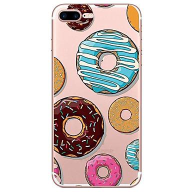 tok Για Apple Διαφανής Με σχέδια Πίσω Κάλυμμα Φαγητό Μαλακή TPU για iPhone 7 Plus iPhone 7 iPhone 6s Plus iPhone 6 Plus iPhone 6s iPhone 6