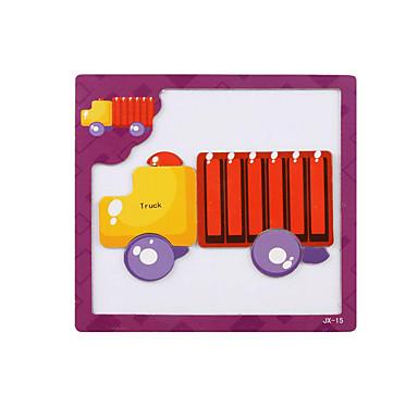 Παιχνίδια αυτοκίνητα Παζλ 3D Παζλ Ξύλινα παζλ Μοντέλο ξύλου Εκπαιδευτικό παιχνίδι Φορτηγό Παιχνίδια Φορτηγό 3D Μαγνητική Ξύλο Παιδικά