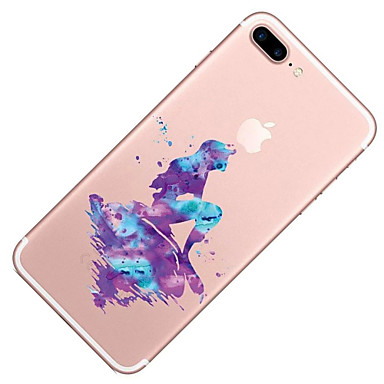 05689304 iPhone disegno iPhone TPU X iPhone Morbido Apple Transparente animati Cartoni retro Per Custodia 8 iPhone Fantasia Per 8 Plus X per wSB81qI