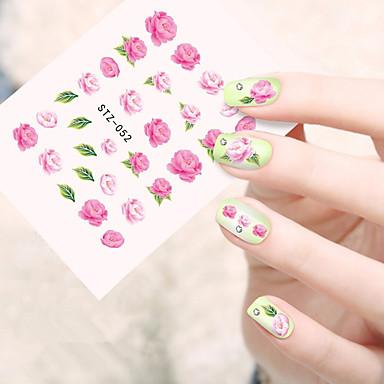 10pcs/set Nail Art Samoprzylepna Folie transferowe Woda Kosmetyki do makijażu Nail Art Design