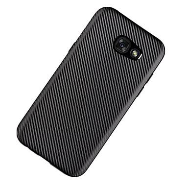 Недорогие Чехлы и кейсы для Galaxy A7-Кейс для Назначение SSamsung Galaxy A3 (2017) / A5 (2017) / A7 (2017) Ультратонкий Кейс на заднюю панель Однотонный Мягкий ТПУ