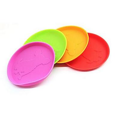 Köpek Oyuncağı Evcil Hayvan Oyuncakları Uçan Disk Dayanıklı Plastik Herhangi Bir Renk