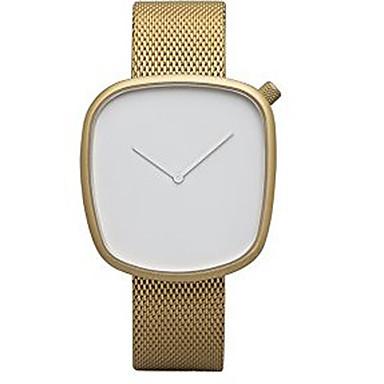 Bărbați Ceas Elegant Ceas La Modă Ceas de Mână Quartz Oțel inoxidabil Bandă Vintage Charm Cool Casual Creative Luxos Argint Auriu