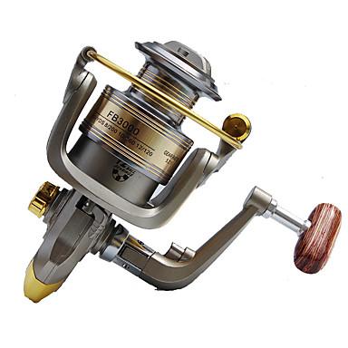 Fishing Reels بكرة دوارة 5.2:1 12 الكرة كراسى أيمن الصيد العام-FB3000