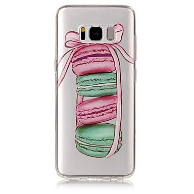 غطاء من أجل Samsung Galaxy S8 Plus S8 IMD شفاف نموذج غطاء خلفي مأكولات ناعم TPU إلى S8 Plus S8 S7 edge S7 S6 edge S6 S5
