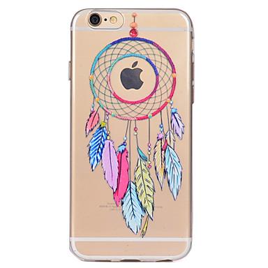 Pentru iPhone X iPhone 8 Carcase Huse Transparent Model Carcasă Spate Maska Prinzător de vise Moale TPU pentru Apple iPhone X iPhone 8