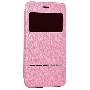 Kılıf Na Samsung Galaxy S8 Plus S8 Z okienkiem Galwanizowane Flip Pełne etui Solid Color Twarde Skóra PU na S8 Plus S8 S7 edge S7 S6 edge