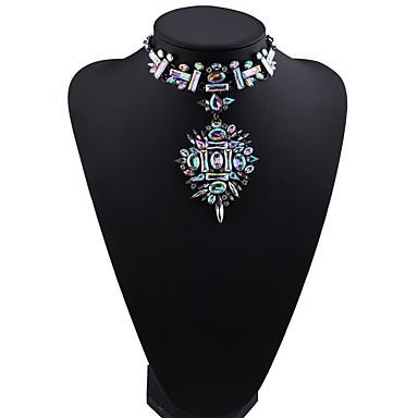 للمرأة القلائد بيان مجوهرات مجوهرات الأحجار الكريمة الاصطناعية سبيكة موضة euramerican في مجوهرات من أجل حزب هدية