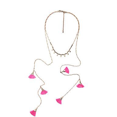 Naisten Riipus-kaulakorut Flower Shape Personoitu Euramerican Pinkki Korut Varten Häät 1kpl