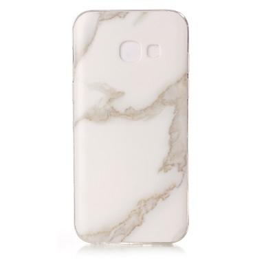 Maska Pentru Samsung Galaxy A5(2017) A3(2017) IMD Carcasă Spate Marmură Moale TPU pentru A3 (2017) A5 (2017)