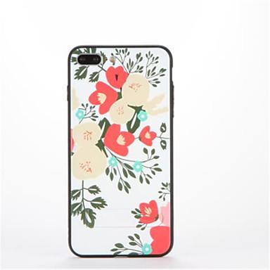Varten Tuella Kuvio Etui Takakuori Etui Kukka Kova PC varten Apple iPhone 7 Plus iPhone 7 iPhone 6s Plus iPhone 6 Plus iPhone 6s iPhone 6