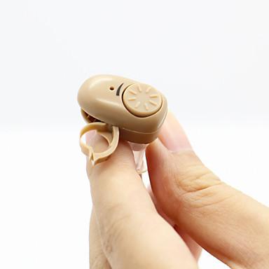 محور عصبي ك-83 جديدة غير مرئية أصغر audiphone أفضل شخصية صوت مكبر للصوت النغمة السمع قابل للتعديل acousticon