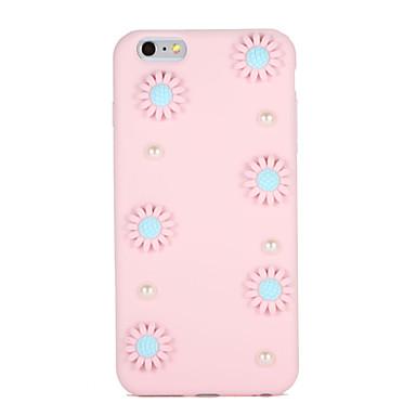 إلى اصنع بنفسك غطاء غطاء خلفي غطاء زهور ناعم TPU إلى Apple فون 7 زائد فون 7 iPhone 6s Plus iPhone 6 Plus iPhone 6s أيفون 6