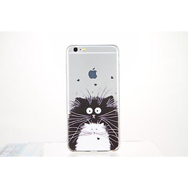 Varten Kuvio Etui Takakuori Etui Eläin Pehmeä TPU varten Apple iPhone 6s Plus iPhone 6 Plus iPhone 6s iPhone 6 iPhone SE/5s iPhone 5