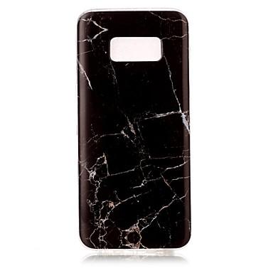 Etui Käyttötarkoitus Samsung Galaxy S8 Plus S8 IMD Takakuori Marble Pehmeä TPU varten S8 S8 Plus