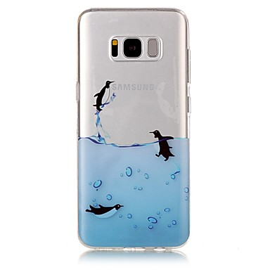 غطاء من أجل Samsung Galaxy S8 Plus S8 IMD شفاف نموذج غطاء خلفي حيوان ناعم TPU إلى S8 S8 Plus S7 edge S7 S6 edge S6 S5