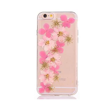 Maska Pentru iPhone 7 Plus iPhone 7 iPhone 6s Plus iPhone 6 Plus iPhone 6s iPhone 6 iPhone 5 Apple Reparații Capac Spate Floare Moale TPU