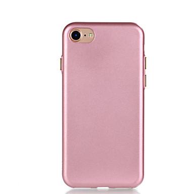 إلى تصفيح غطاء غطاء خلفي غطاء لون صلب ناعم TPU إلى Appleفون 7 زائد فون 7 iPhone 6s Plus iPhone 6 Plus iPhone 6s أيفون 6 iPhone SE/5s
