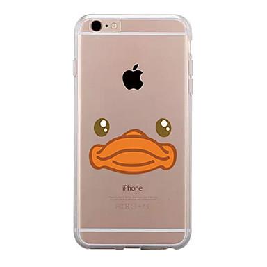 إلى شفاف نموذج غطاء غطاء خلفي غطاء كرتون ناعم TPU إلى Appleفون 7 زائد فون 7 iPhone 6s Plus iPhone 6 Plus iPhone 6s أيفون 6 iPhone SE/5s