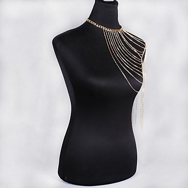 Γυναικεία Κοσμήματα Σώματος Body Αλυσίδα / κοιλιά Αλυσίδα Μποέμ Φύση Μοντέρνα Κράμα Κοσμήματα Για Ειδική Περίσταση Δώρο Causal