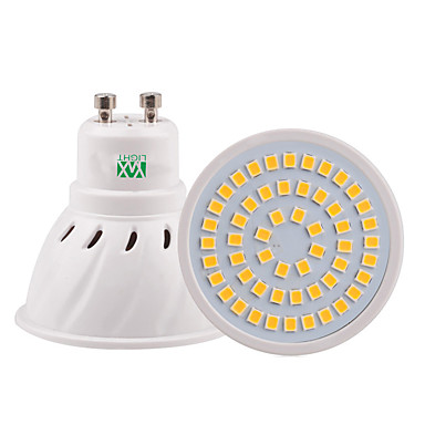 ywxlight® 5w gu10 gu5.3 e26 / e27 mr16 οδήγησε προβολέα 54smd 2835 400-500lm ζεστό λευκό κρύο λευκό φυσικό λευκό ac110v / 220v
