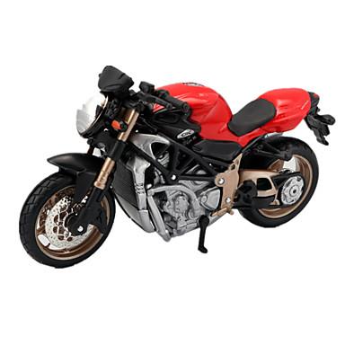 Samochodziki do zabawy Motocykle do zabawy Zabawki Motor Wyścigówka Zabawki Symulacja Wieża Powóz Motocykl Konik ABS Metal Plastikowy