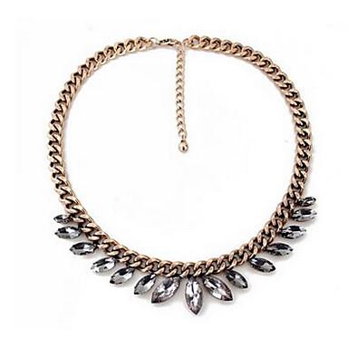 للمرأة قلائد الحلي الماس الاصطناعية كروم حجر الراين موضة euramerican في مجوهرات من أجل حزب مناسبة خاصة عيد ميلاد هدية