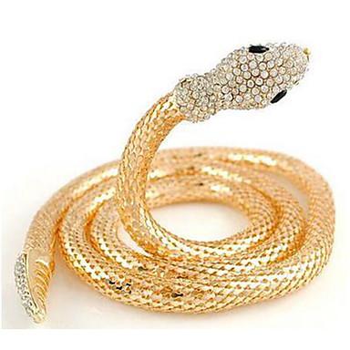 Damskie Spersonalizowane Luksusowy euroamerykańskiej Słodkie Style Europejski Łańcuszki na szyję Imitacja diamentu Stop Łańcuszki na szyję