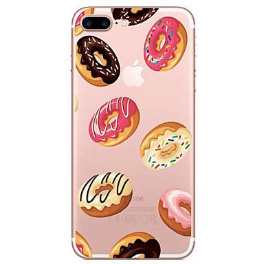 Için Şeffaf Temalı Pouzdro Arka Kılıf Pouzdro Yiyecek Yumuşak TPU için AppleiPhone 7 Plus iPhone 7 iPhone 6s Plus iPhone 6 Plus iPhone 6s