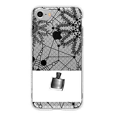 Için Yarı Saydam Pouzdro Arka Kılıf Pouzdro Dantel Tasarımı Yumuşak TPU için AppleiPhone 7 Plus iPhone 7 iPhone 6s Plus iPhone 6 Plus