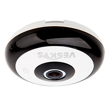 veskys® 360 grade hd vizualizare completă ip security network wifi camera 1.3mp fisheye