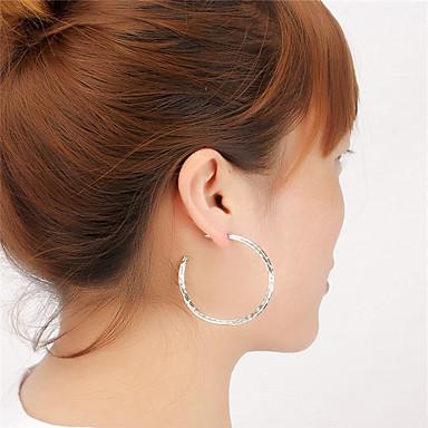 Kadın's Vidali Küpeler Mücevher Dairesel Tasarım Geometrik Moda Kişiselleştirilmiş Euramerican alaşım Round Shape Mücevher Uyumluluk