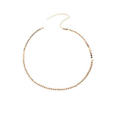 Dame Bijuterii de corp Lanț de Talie La modă Articole de ceramică Geometric Shape Auriu Bijuterii Pentru Petrecere Ocazie specială Casual