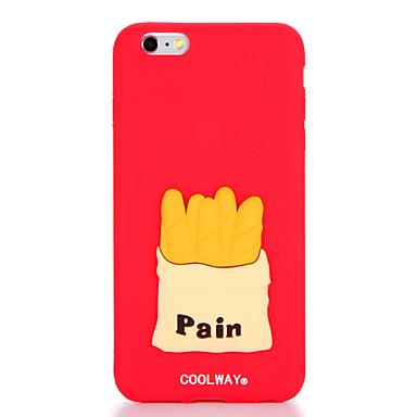 Varten Kuvio Etui Takakuori Etui Ruoka Pehmeä Silikoni varten Apple iPhone 7 Plus iPhone 7 iPhone 6s Plus iPhone 6 Plus iPhone 6s iPhone 6