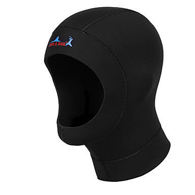 للجنسين 3mm قبعات الغطس الدفء متنفس قطن بزة الغوص قبعة-سباحة غوص شتاء فصل الخريف كلاسيكي