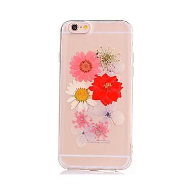 إلى اصنع بنفسك غطاء غطاء خلفي غطاء زهور ناعم TPU إلى Appleفون 7 زائد فون 7 iPhone 6s Plus iPhone 6 Plus iPhone 6s أيفون 6 iPhone SE/5s